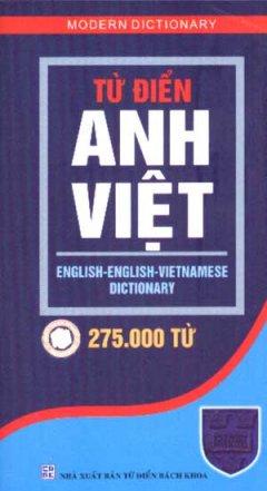 Từ Điển Anh Việt ( 275.000 Từ )