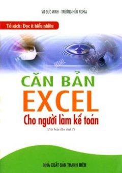 Căn Bản Excel Cho Người Làm Kế Toán