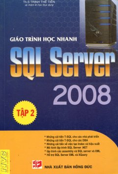 Giáo Trình Học Nhanh SQL Server 2008 - Tập 2