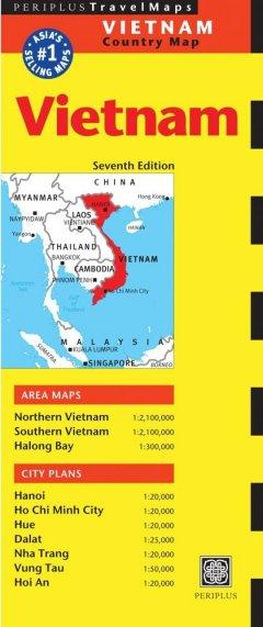 Travel Map Vietnam - Tái bản 04/2011