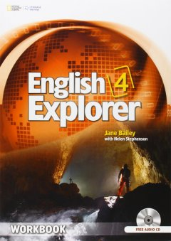 English Explorer 4: Workbook with Audio CDs