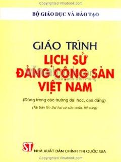 Giáo Trình Lịch Sử Đảng Cộng Sản Việt Nam - Tái bản 08/06/2006