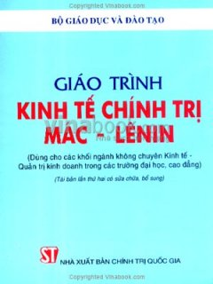 Giáo Trình Kinh Tế Chính Trị Mác - Lênin - Tái bản 08/06/2006