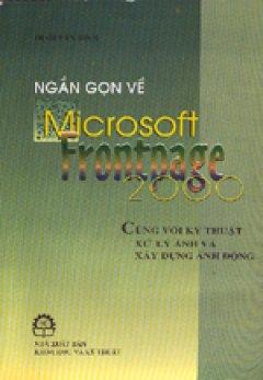 Ngắn gọn về Microsoft Fronpage 2000