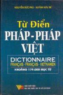 Từ Điển Pháp-Pháp-Việt - Tái bản 12/01/2001