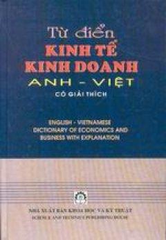 Từ điển kinh tế kinh doanh Anh- Việt
