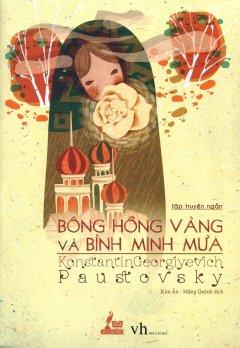 Bông Hồng Vàng Và Bình Minh Mưa