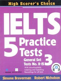 IELTS 5 Practice Tests - General Set 3
