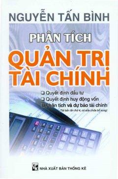 Phân Tích Quản Trị Tài Chính - Tái bản 06/09/2009