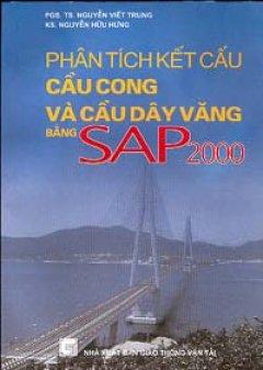 Phân tích kết cấu cầu cong và cầu dây văng bằng SAP 2000
