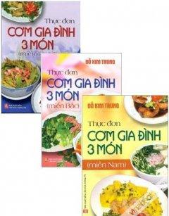 Thực Đơn Cơm Gia Đình 3 Món Việt Nam - Bộ 3 Cuốn