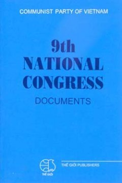 9th National Congress Documents (Văn kiện Quốc hội lần thứ 9)