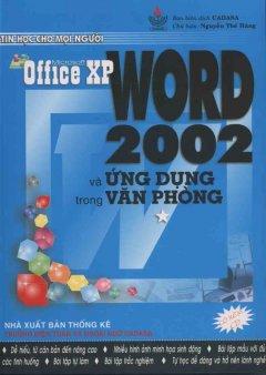 WORD 2002 và ứng dụng trong văn phòng
