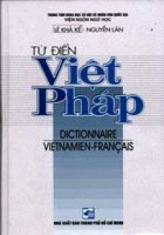 Từ Điển Việt - Pháp - Tái bản 09/01/2001